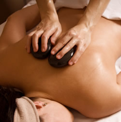 Hot Stone Massage at SeaRhythms in Charlottesville, VA